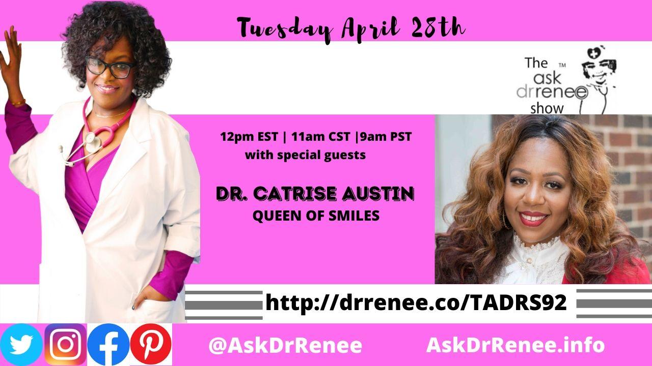 Dr. Catrise, Queen of Smiles, VIP smiles, Cardi B, Dentist, Flint, Michigan, New York, Dr. Renee, Ask Dr. Renee, Dr. Renee Matthews, black doctors