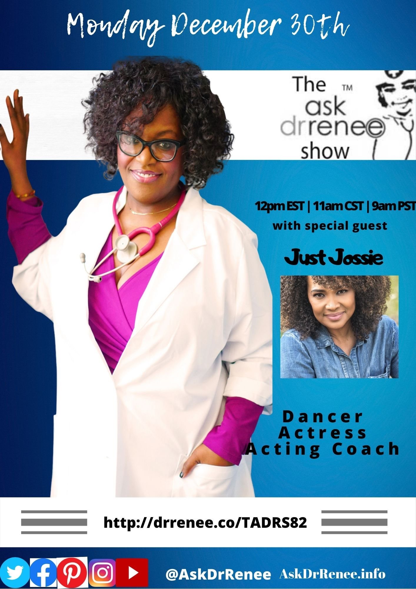 Ask Dr. Renee Show,Talk Show Host,Oprah Winfrey,talk show,Jossie Harris,in living color,Fly girls,Dancer,Jossie Harris Thacker,music,dancer,hiphop,Jennifer Lopez,acting coaching class,talk show hosts laughing, Jossie Harris, Dancer, Actress, Acting Coach, Fly Girl, In Living Color, The Ask Dr. Renee Show, Dr. Renee, Dr. Renee Matthews, Ask Dr. Renee