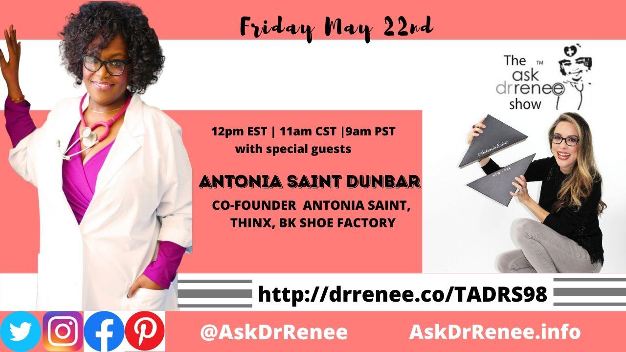 Thinx, Antonia Saint Shoes, Entrepreneur, Michigan,